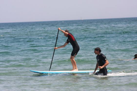 Stand up / Waterman trainning